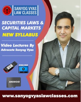CS EXECUTIVE  NEW SYLLABUS- SECURITIES LAWS  &  CAPITAL MARKETS