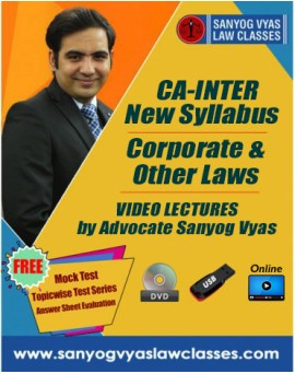 CA-INTER Corporate  & Other Laws
